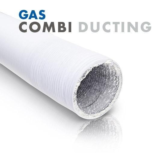 G.A.S White Combi Ducting 5m & 10m