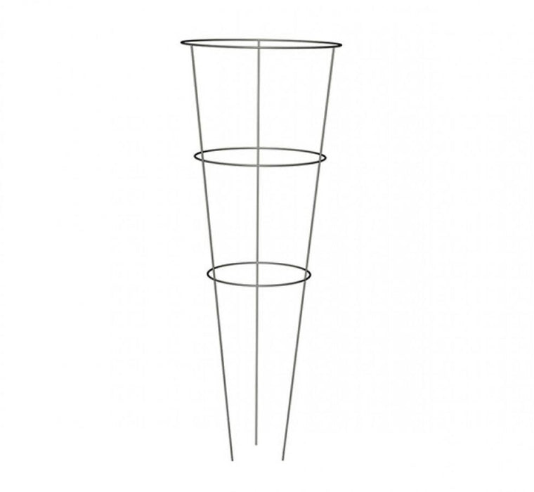 "Conical Plant Support Cage 36"" - 3 Rings"