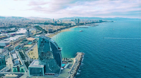 The Smart City of Barcelona, courtesy of Benjamin Bremler via Unsplash