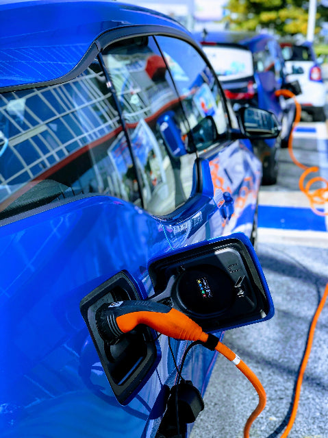 Electric vehicles are the future of mobility. Image courtesy of John Cameron on Unsplash.