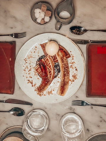 dessert duck and waffle london