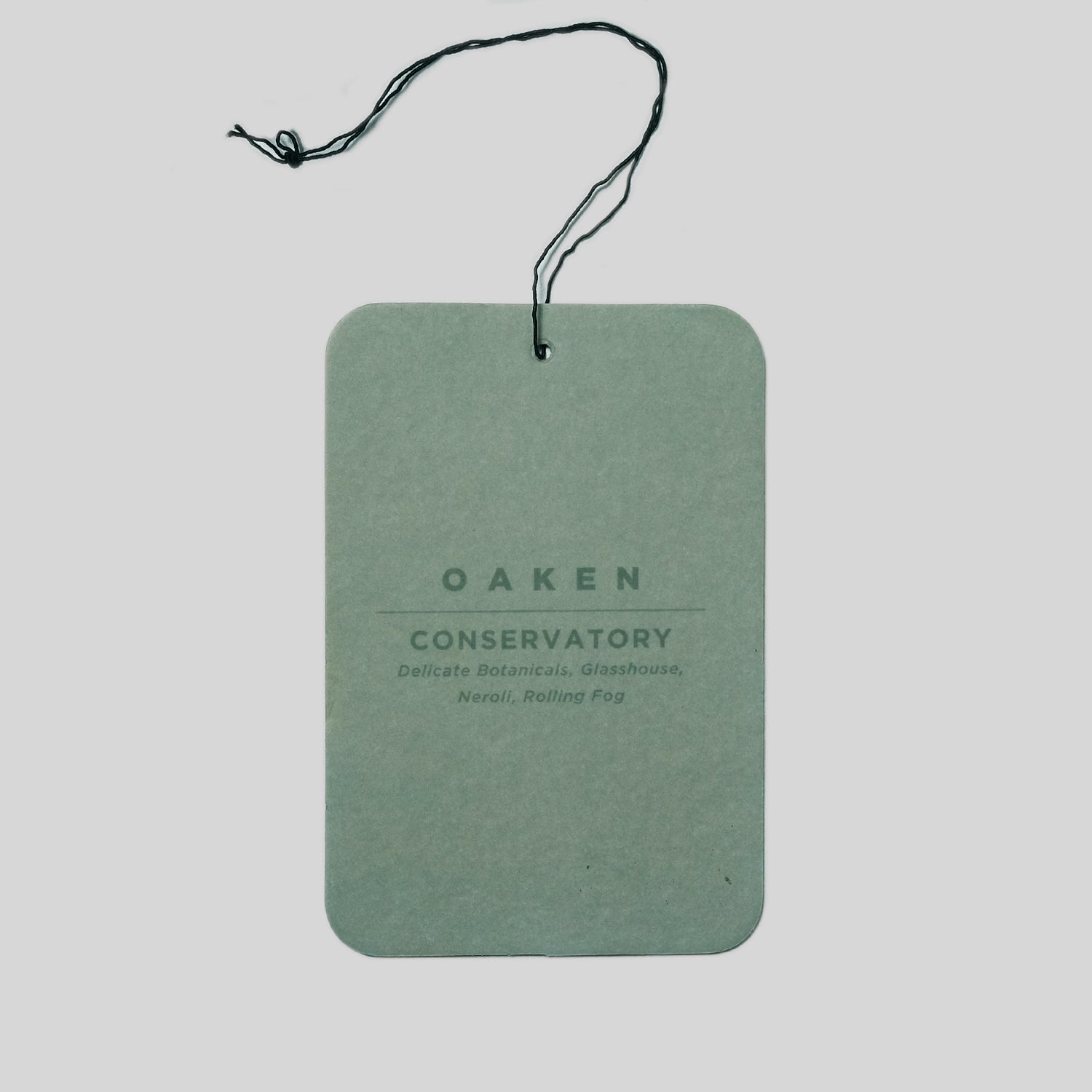 Scent Tag - Conservatory