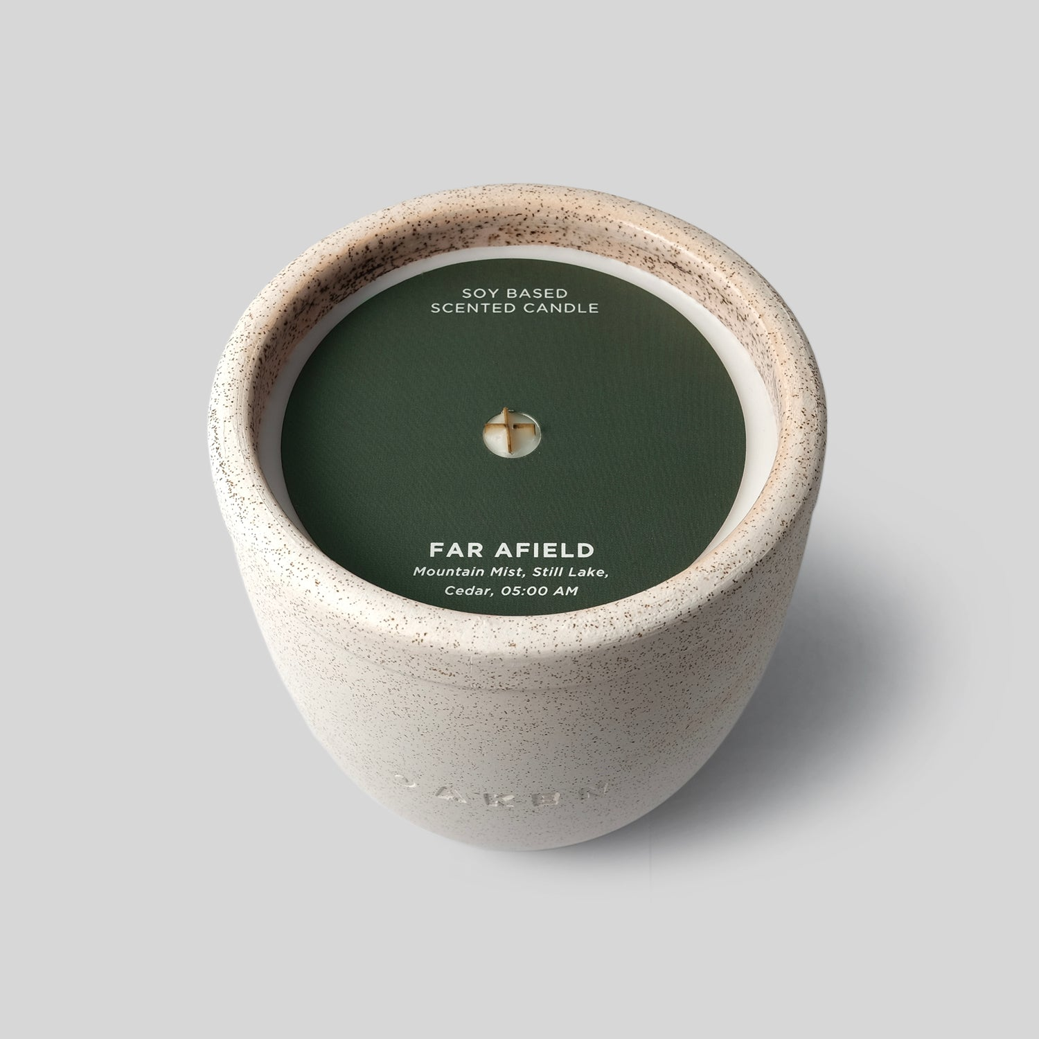 Ceramic Candle - Large - Far Afield