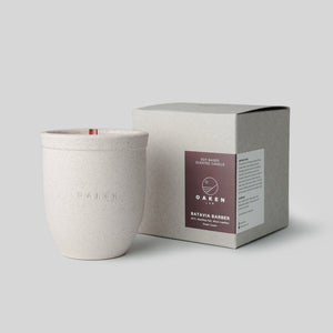 Ceramic Candle - Small - Batavia Barber