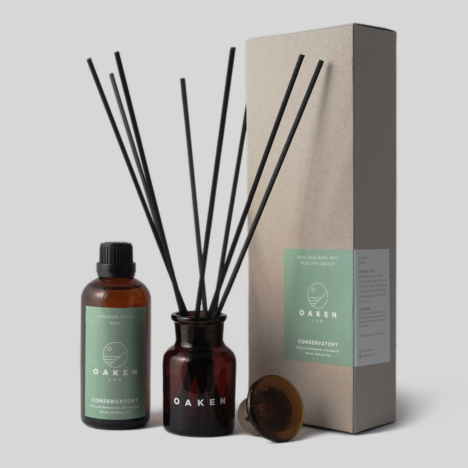 Reed Diffuser Refill - Conservatory
