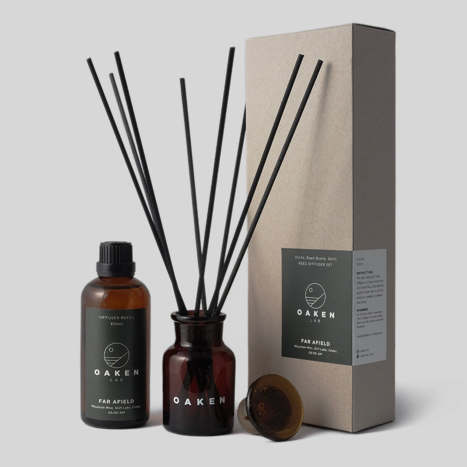 Reed Diffuser Refill- Far Afield