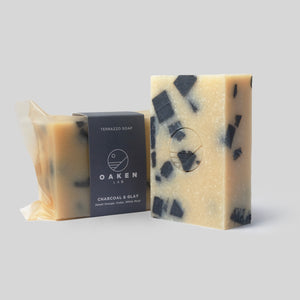 Terrazzo Bar Soap <br> Charcoal & Clay