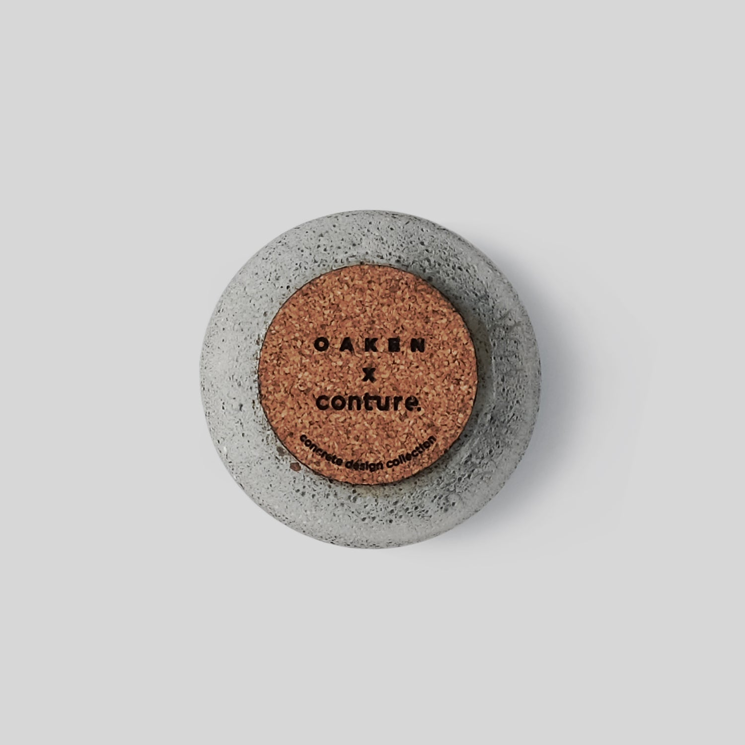 Concrete Incense Holder - Oaken x Conture