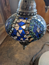 Load image into Gallery viewer, Turkish glass and mosaic lamp