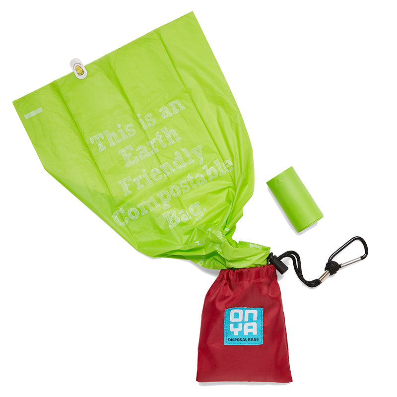 Onya Dog waste disposal bags and carry pouch - Plastic Free Living