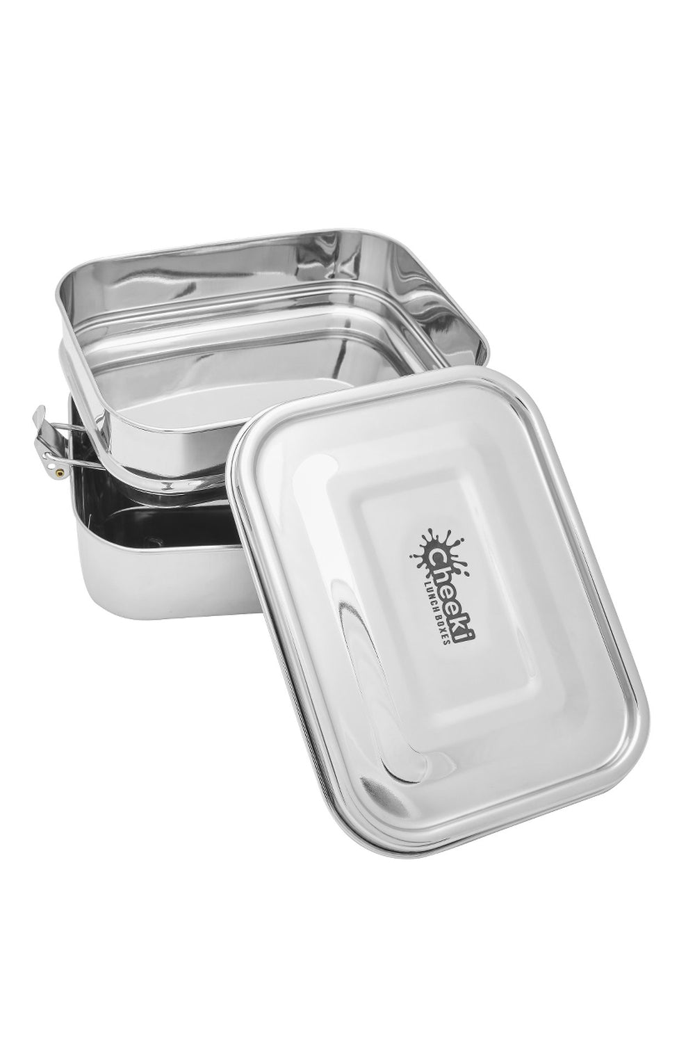 Cheeki | 1 litre double stack Bento lunch box | Plastic Free Living | Environmentally Friendly Homewares
