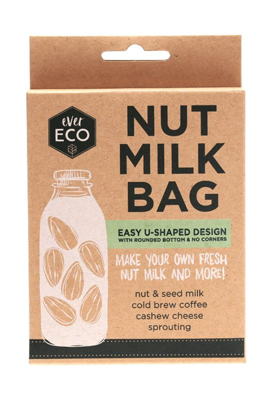 Ever Eco | Ever Eco Nut milk bag | Plastic Free Living | Environmentally Friendly Homewares