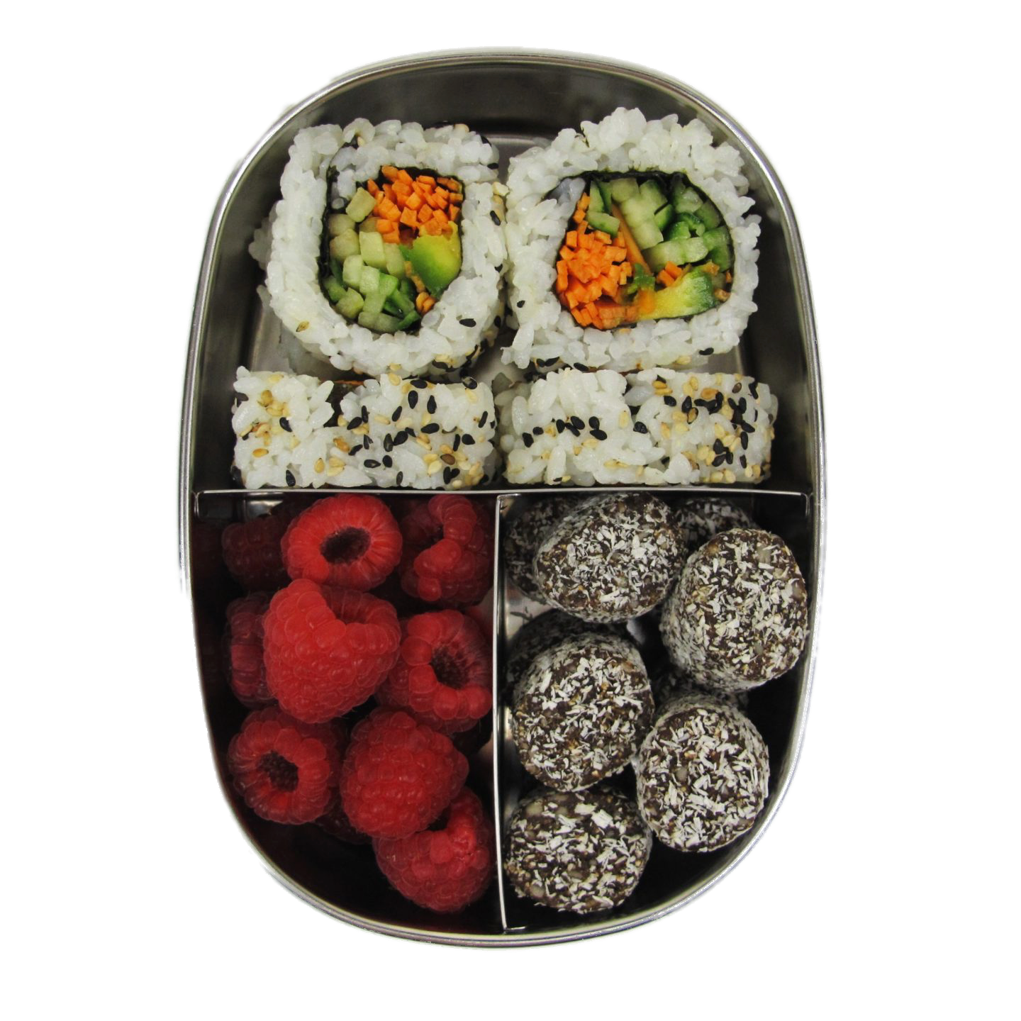 Ever Eco | Bento snack box 3 compartment | Plastic Free Living | Environmentally Friendly Homewares