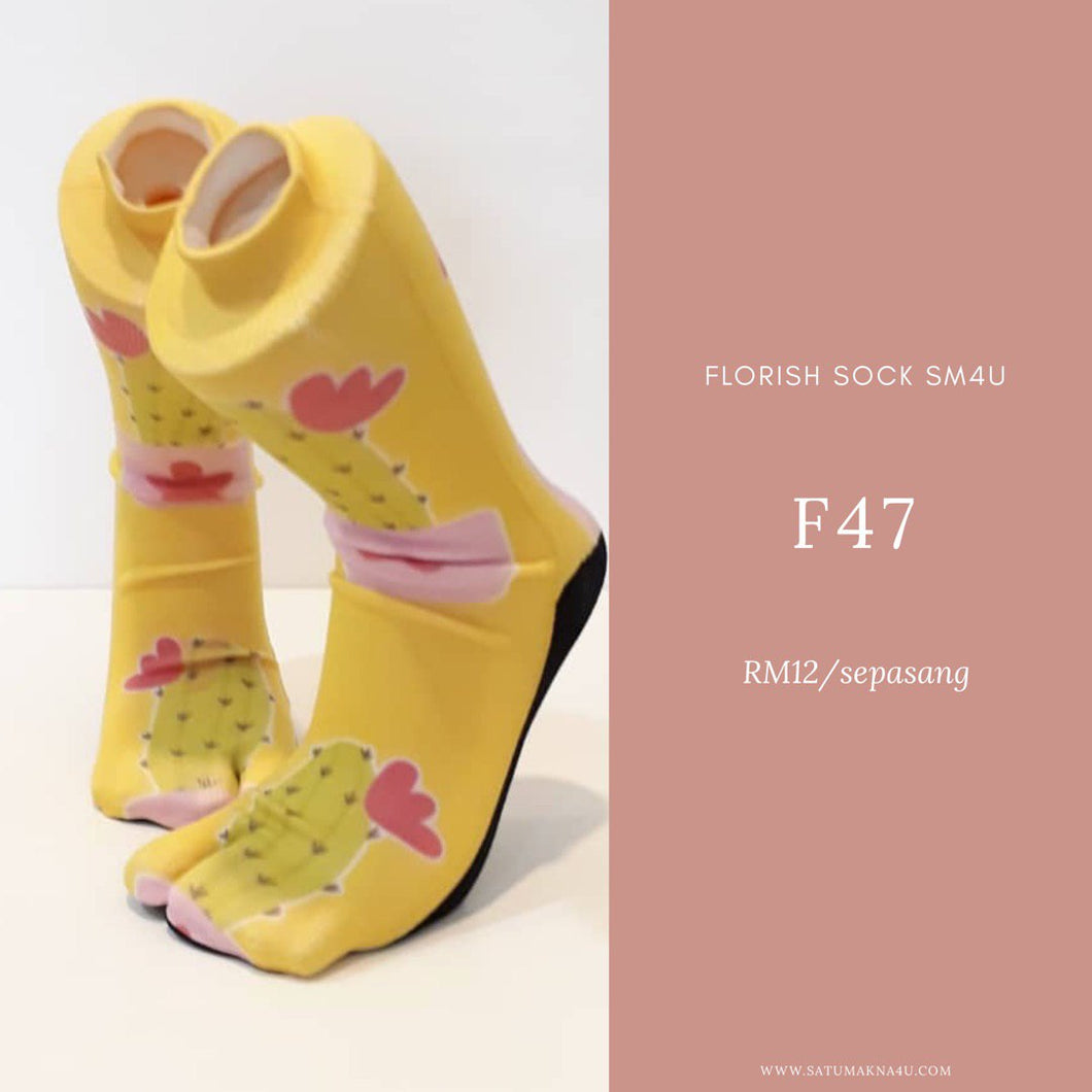 SM4U Socks Florish ( P )