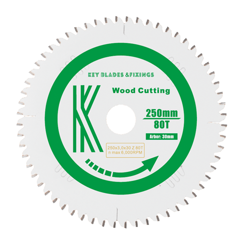 250MM X 30MM X 3.0MM 80 TOOTH SAW BLADE - 6103 - The People's Tool Company