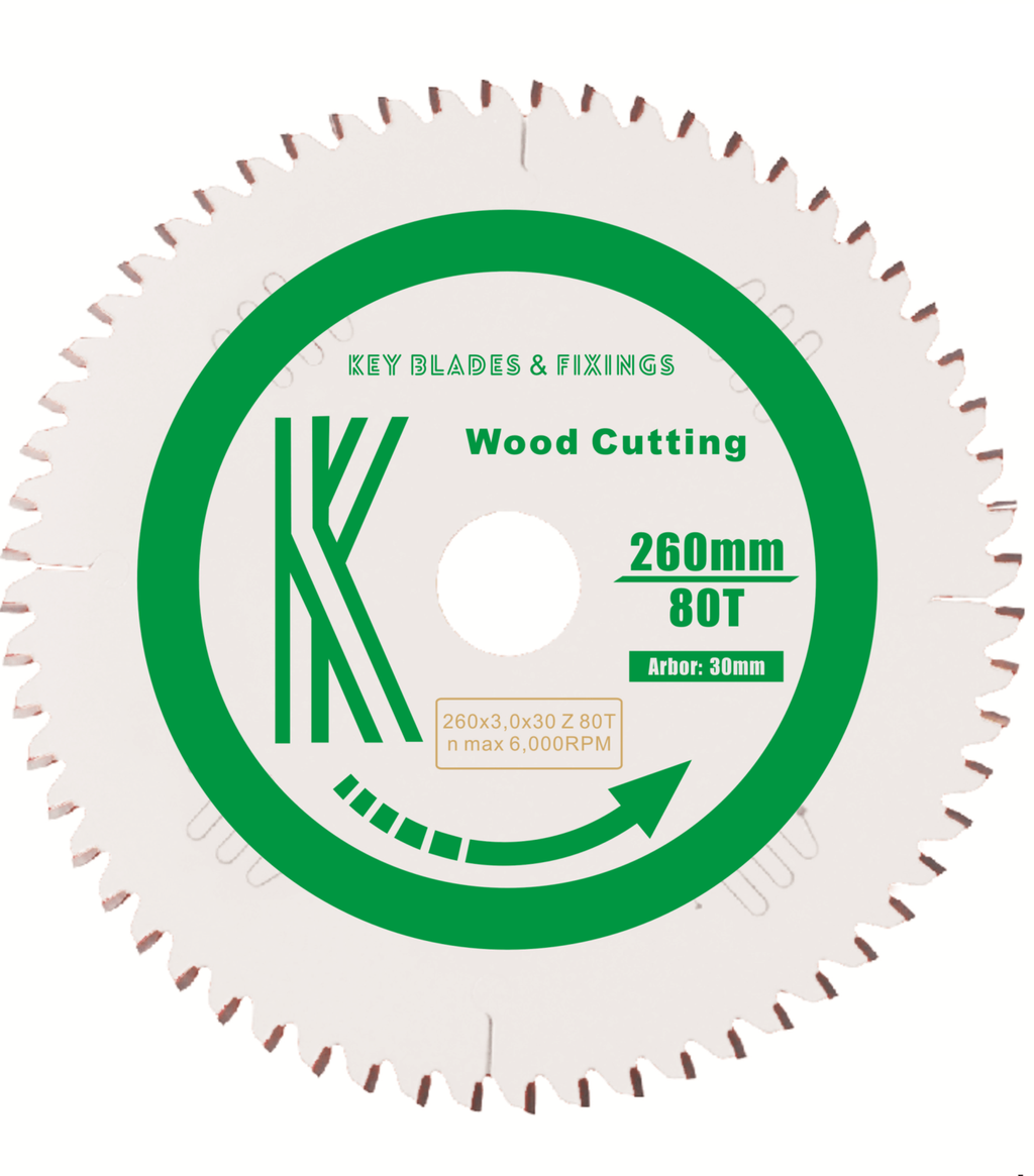 260MM X 30MM X 3.0MM 80 TOOTH (NEG RAKE) SAW BLADE KAPEX KS120/KS88 2603 - The People's Tool Company