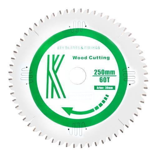 10 Inch- 250MM X 30MM X 3.0MM 60 TOOTH SAW BLADE - 6102 - The People's Tool Company