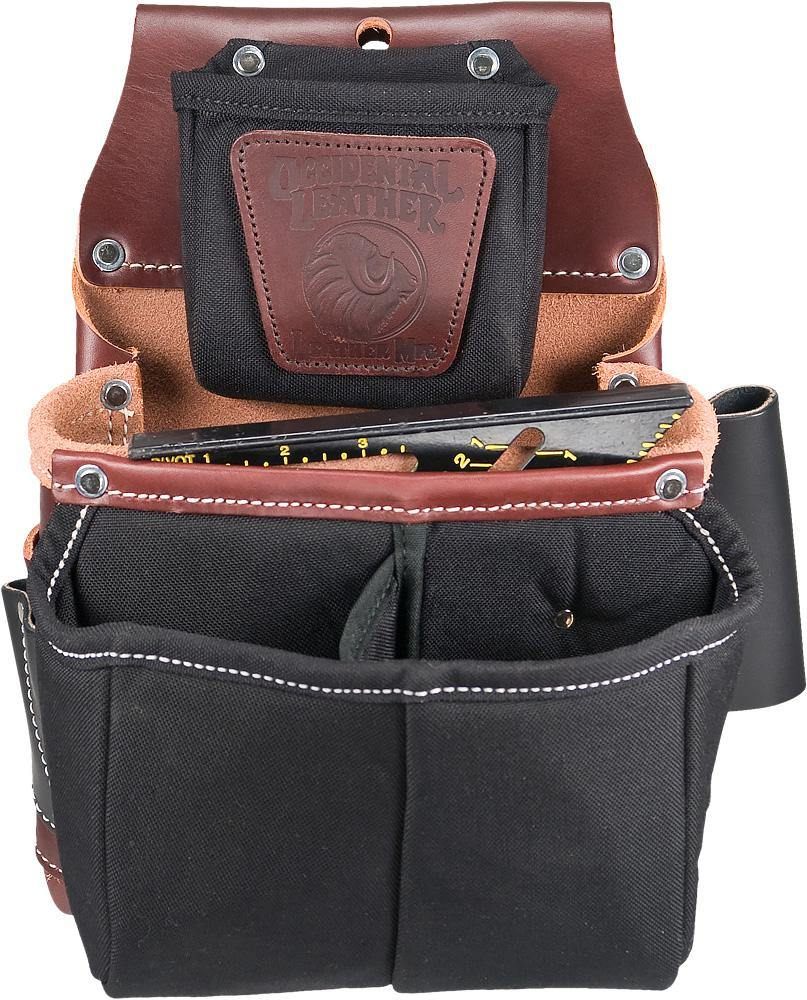 Belt Worn Fastener Bag w/Divided Nylon DB - The People's Tool Company