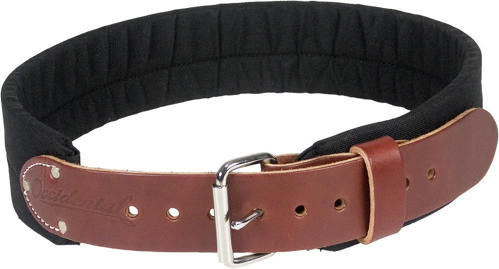 "3"" Leather & Nylon Tool Belt - The People's Tool Company"