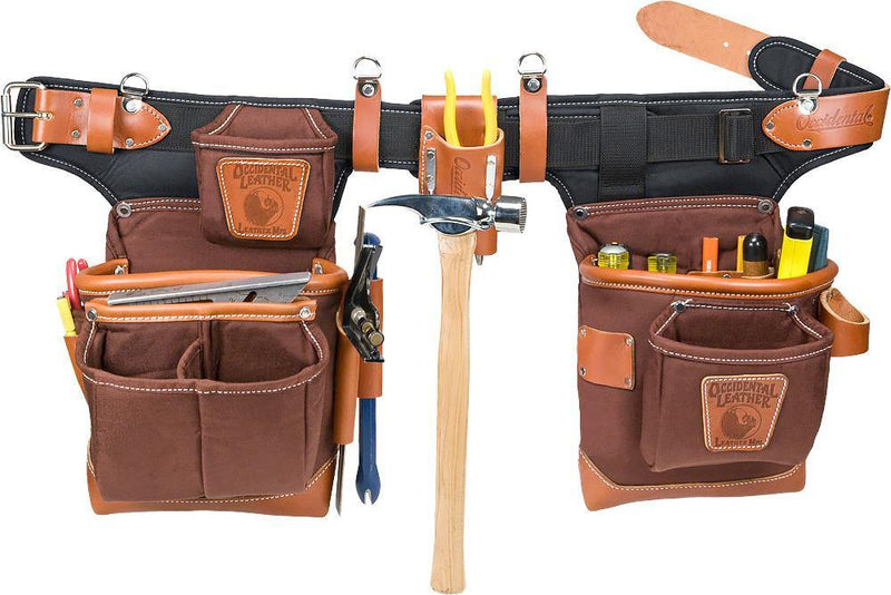 Adjust-to-Fit™ Fat Lip™ Tool Bag Set - Cafe - The People's Tool Company