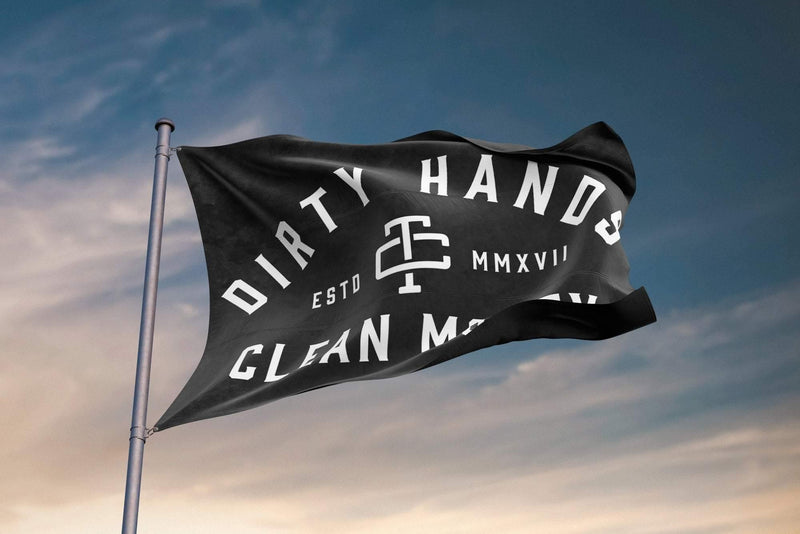 DHCM DOUBLE SIDED FLAG - The People's Tool Company