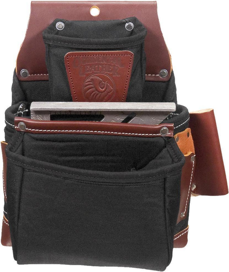 OxyLights™ 3 Pouch Fastener Bag - Black - The People's Tool Company