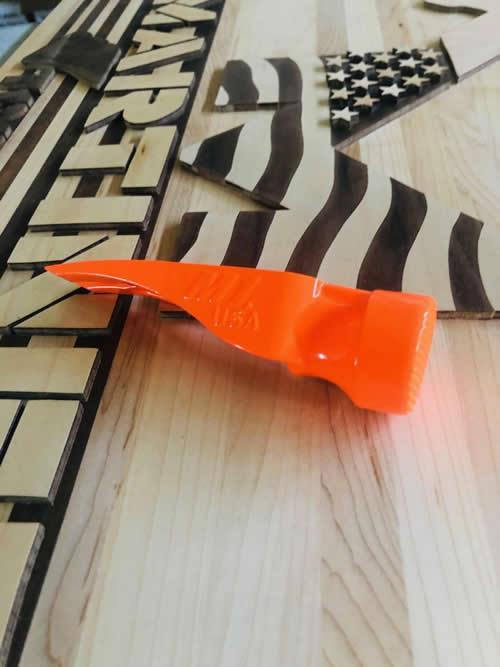 M1 15oz Smooth Face Framing Orange - The People's Tool Company