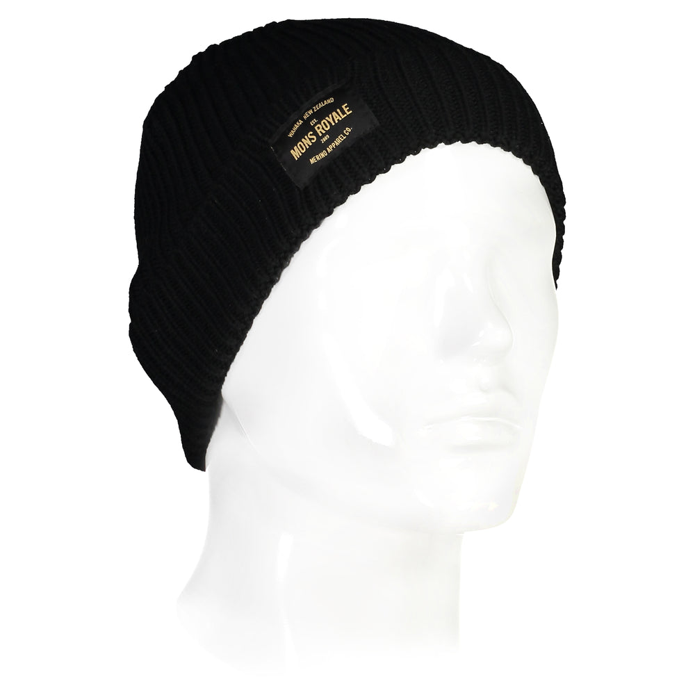 Fisherman's Beanie - Black - 001 - OS