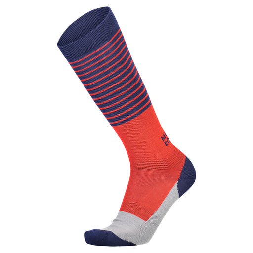 Lift Access Sock - Navy / Grey / Bright Red - 503