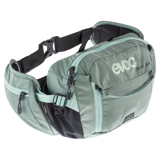 HIP PACK RACE 3 L - Olive - Light Petrol