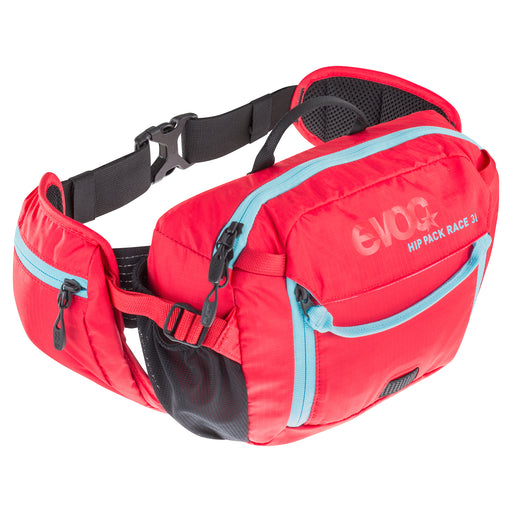HIP PACK RACE 3l + 1,5l Bladder - Red - Neon Blue