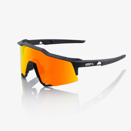 Speedcraft - Soft Tact Black - HiPER Red Multilayer Mirror Lens