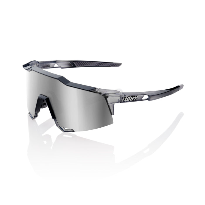 Speedcraft - Polished Translucent Crystal Grey - HiPER Silver Mirror Lens