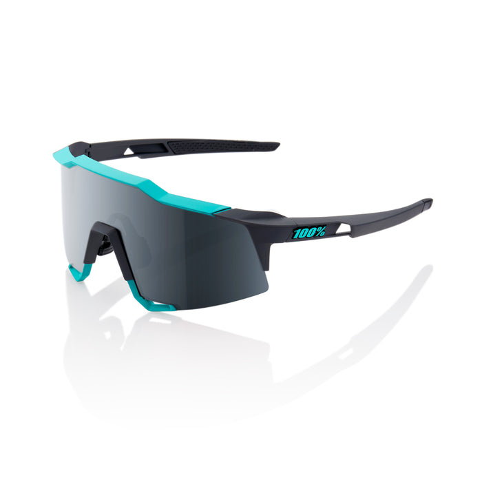 Speedcraft - Soft Tact Celeste Green/Cement Grey - Black Mirror Lens