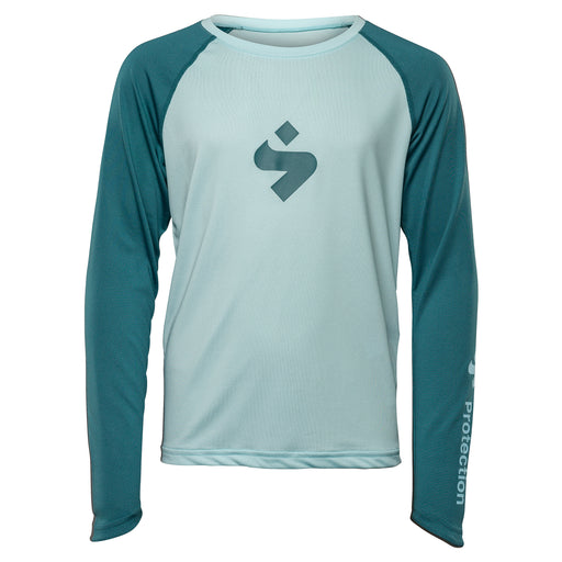 Hunter LS Jersey JR - Glacier Blue