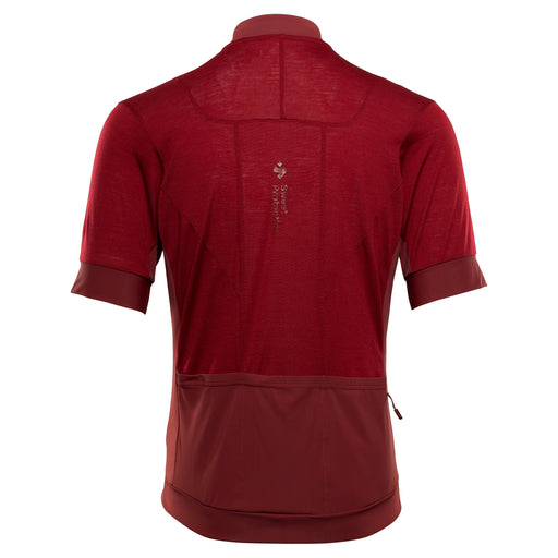 Crossfire Merino SS Jersey M - Earth Red