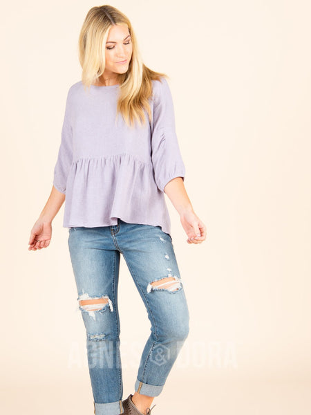 Agnes & Dora™ Collective Top Lilac