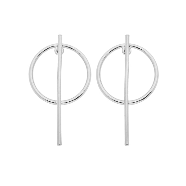 Beatrix Earrings (silver)