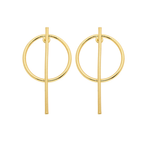 Beatrix Earrings (gold)
