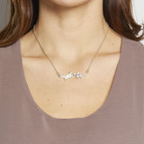 Mama Necklace (1 baby bird)