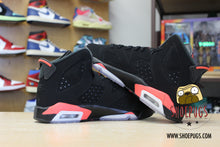 Load image into Gallery viewer, Air Jordan 6 Retro Black Infrared 2019 (GS)