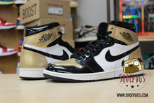 Load image into Gallery viewer, Air Jordan 1 Retro High NRG Gold Toe