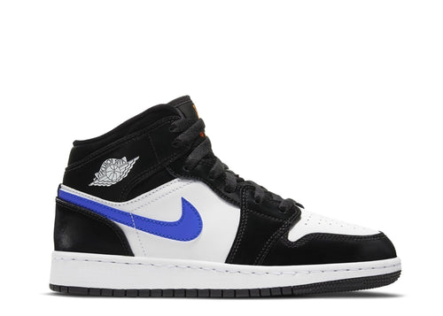 Air Jordan 1 Mid Black Racer Blue (GS)