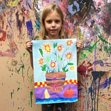 Load image into Gallery viewer, Kids Art Class 4-9 yrs