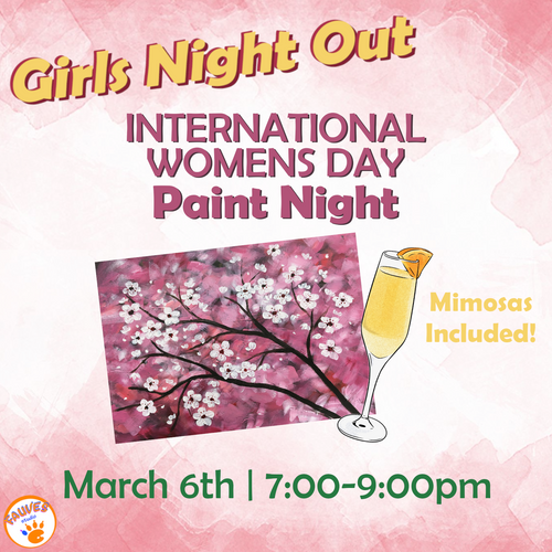 International Women's Day Paint Night