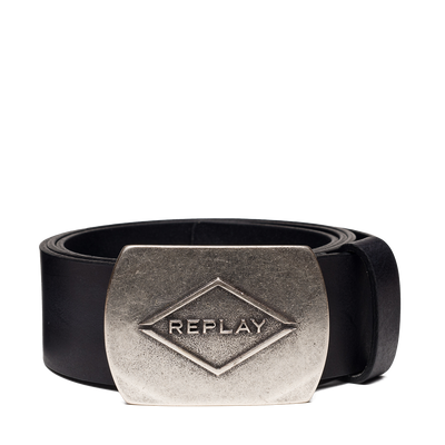 Replay-Smooth-Leather-Belt-Black-AM2600.000.A3001-098