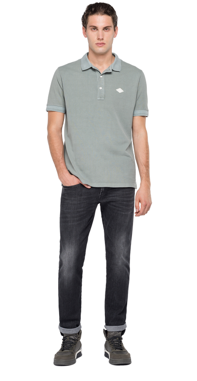 Replay-Cotton-Polo-Shirt-Alluminium-M3070-.000.22696G-092