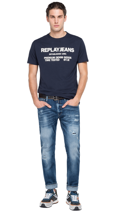 Replay-Jeans-Crewneck-T-Shirt-Dark-Blue-M3178-.000.22980P-890