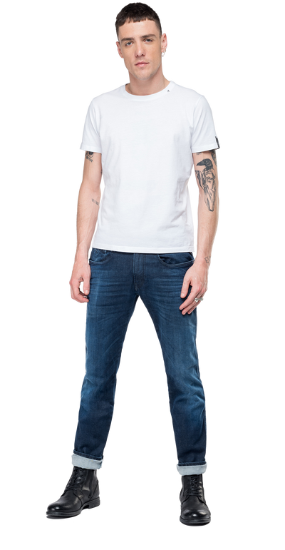 Replay-Slim-Fit-Hyperflex-Clouds-Anbass-Jeans-Dark-Blue-M914-.000.661-E05-007