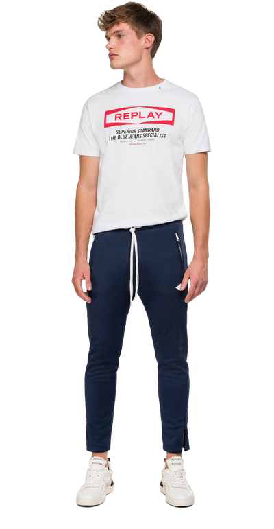 Jogger-with-Replay-Striped-Ribbon